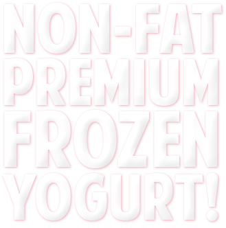 NON FAT PREMIUM FROZEN YOGURT